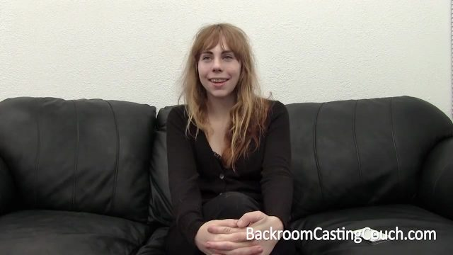 Scruffy gal fucked arduous up the bum in a porno casting
